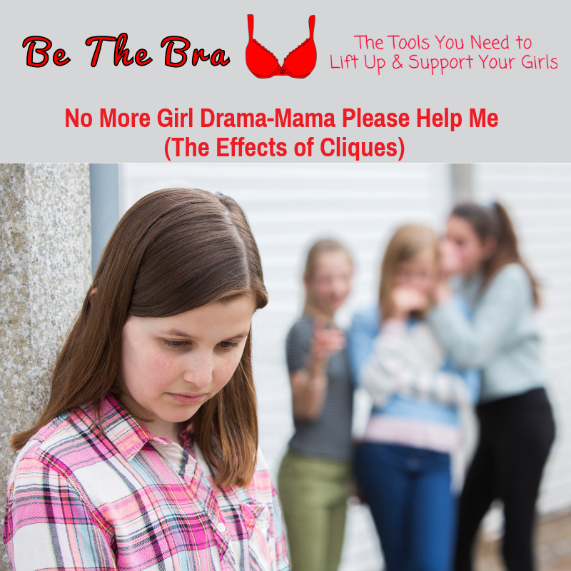 No More Girl Drama-Mama Please Help (The Effects of Cliques)