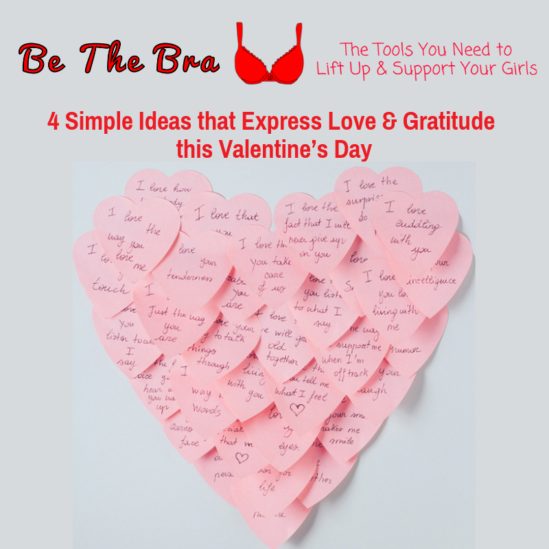 4 Simple Ideas that Express Love & Gratitude this Valentine's Day