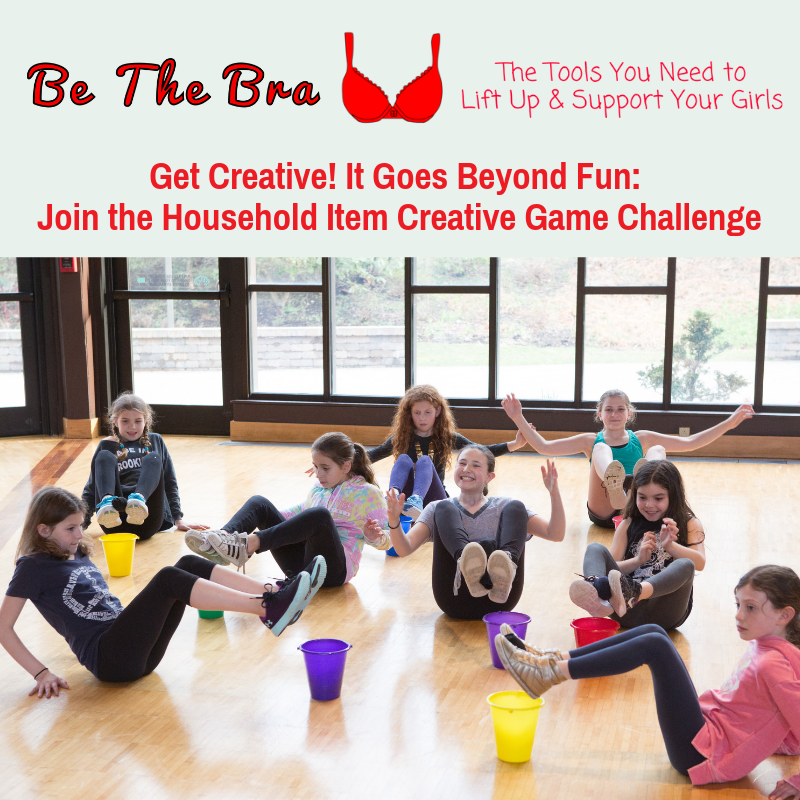 Get Creative-It Goes Beyond Fun. Join Household Item Creative Game Challenge