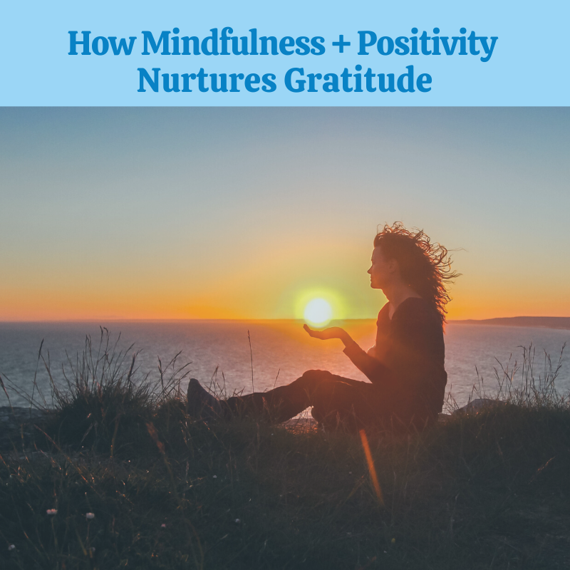 How Mindfulness + A Positive Attitude Lead to Gratitude